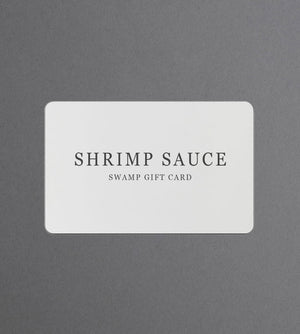 Shrimp Sauce Gift Card