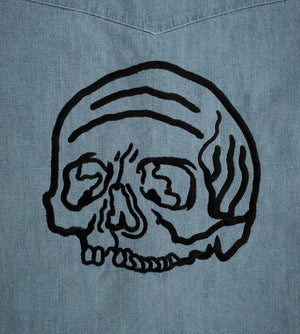 Spiral Skull x Made & Crafted Levis