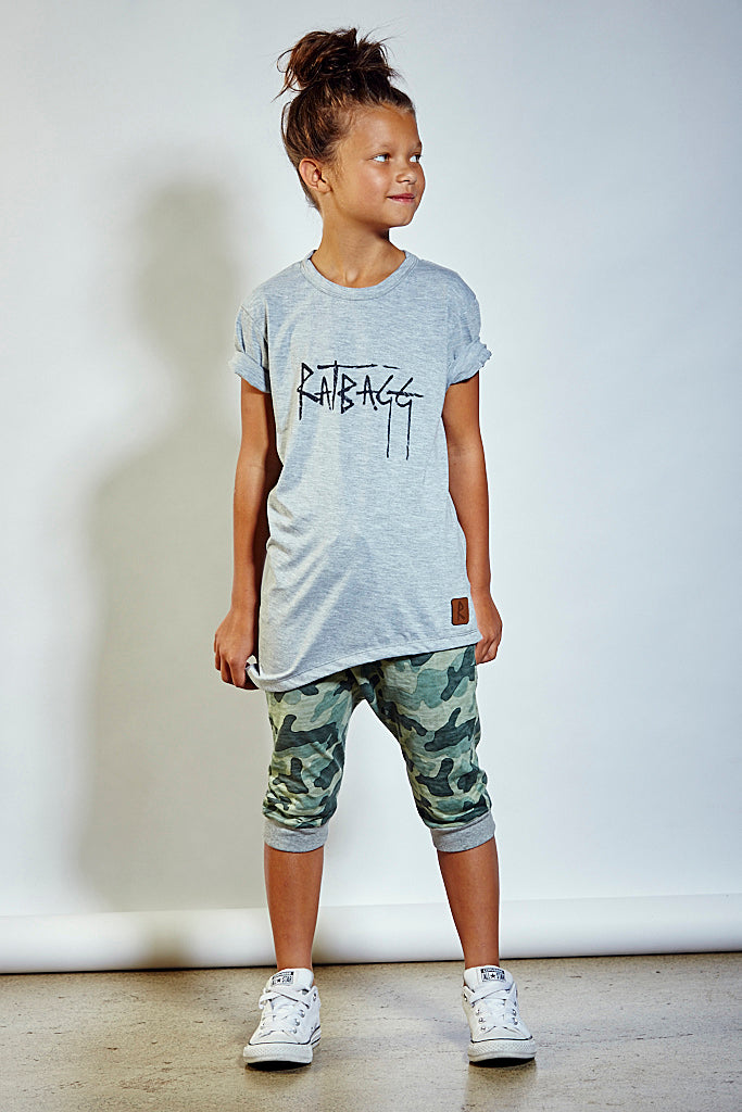 Kids Signature Tee - Grey
