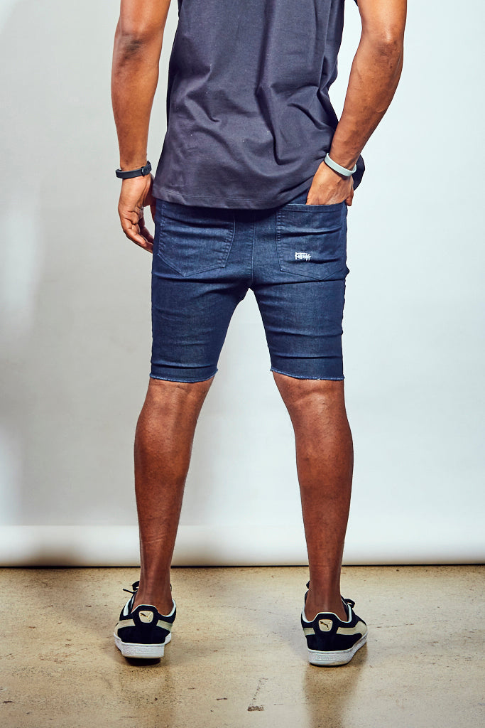 Lit Short - Dark Navy