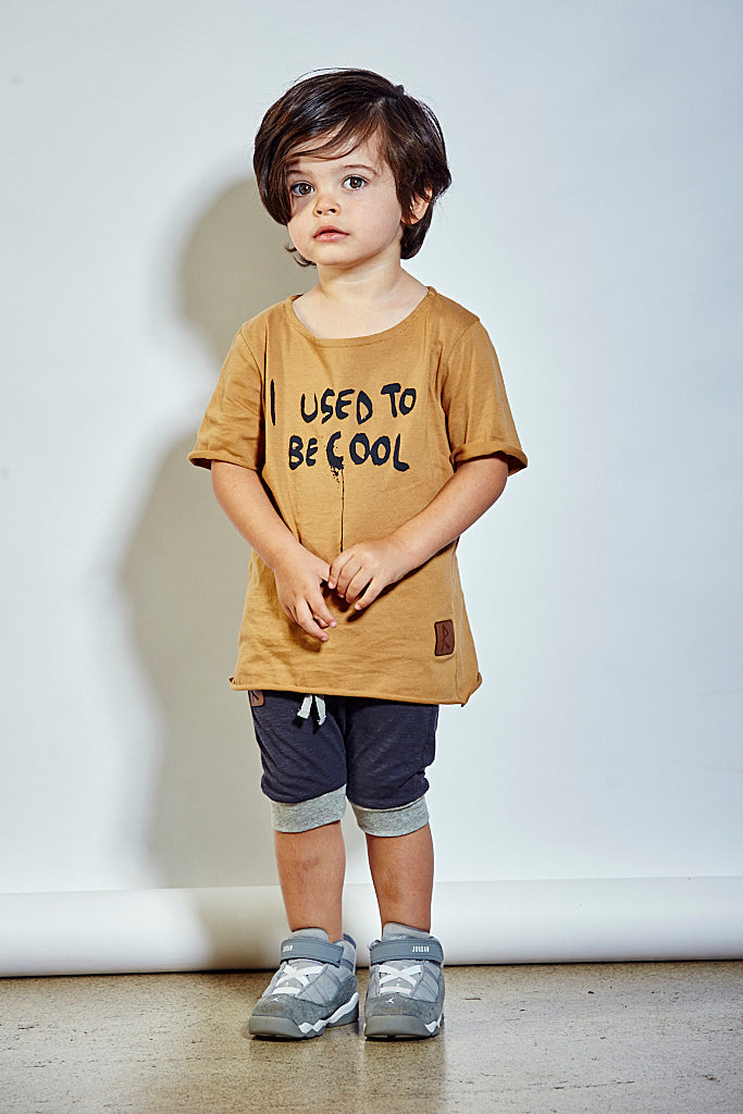 Kids I Used To Be Cool Tee - Dirty Rust