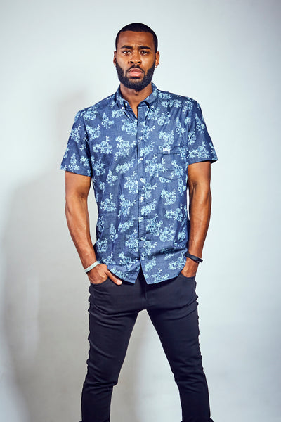 Chombray Shirt - Blue