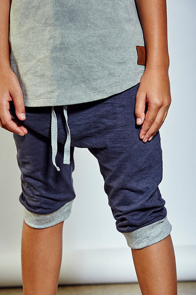 Kids Theo Jogger Short - Black