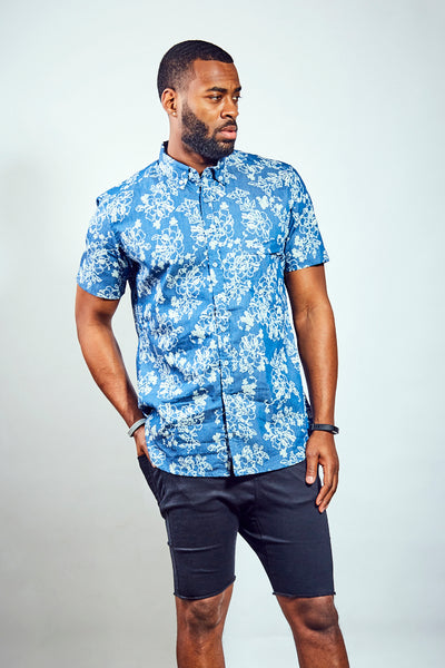 Rose Limited Edition Shirt - Blue