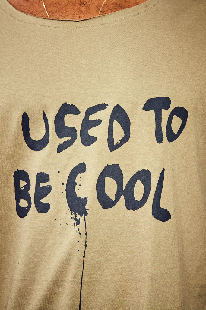 I Used To Be Cool Tee - Olive