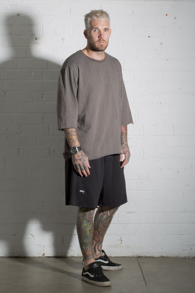 3/4 Jumper - Washed Brown