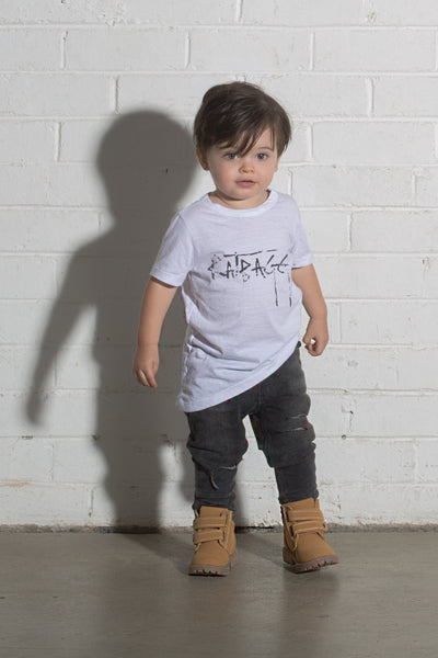 Kids Signature Tee - White