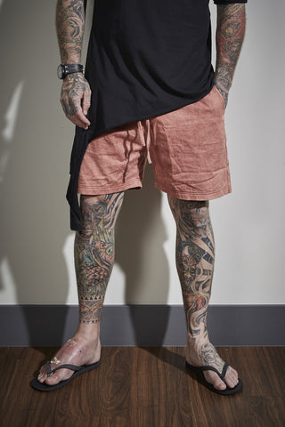 Piggy BJ Shorts - Burnt Orange