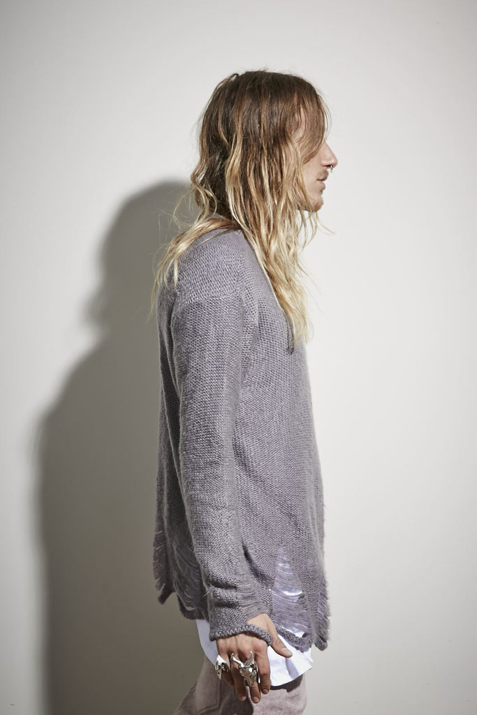 G.O.T Knitted Jumper - Grey
