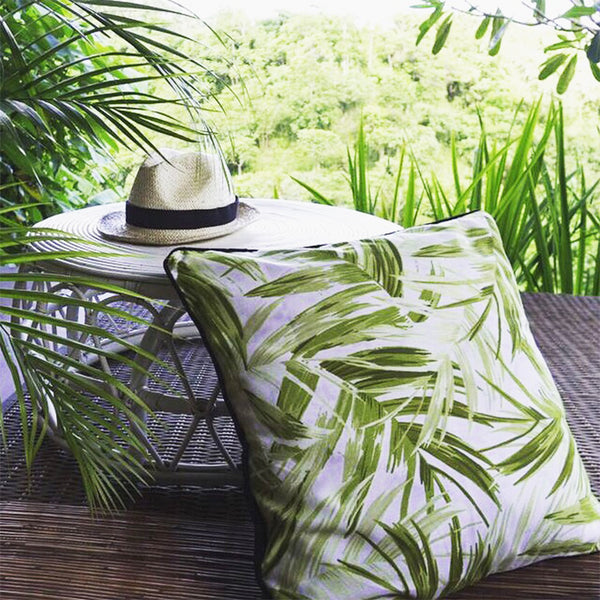 Trimmed Tropicana Cushion