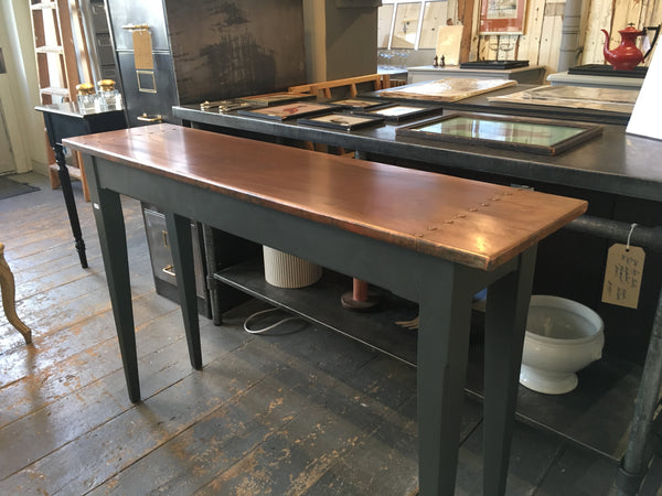 Copper top table - Made to Measure - Any Size