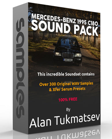 Free Sample Pack - Producer Alan Tukmatsev