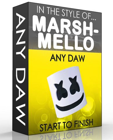 Marshmello Style Music Production Tutorial - Any DAW