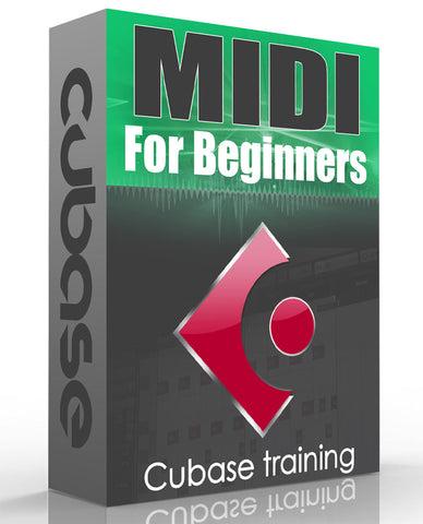 Cubase MIDI Course For Beginners
