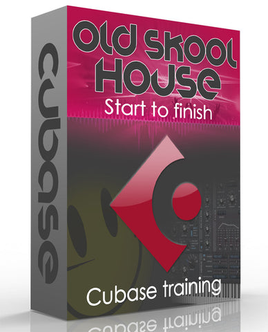 Cubase Old Skool 90s House - From Start To Finish