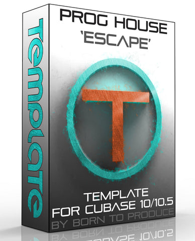 Cubase Template - Progressive House 1