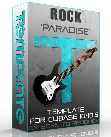 Cubase Template - Rock Music 1