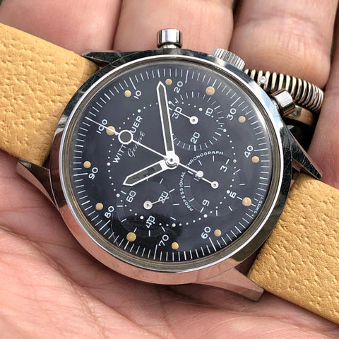 Wittnauer - Chronograph Ref. 242T all black dial