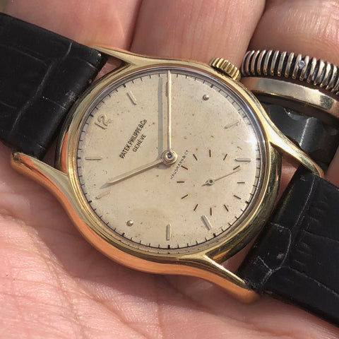 Patek Philippe - Ref. 2406 for Hausmann yellow gold 1950s