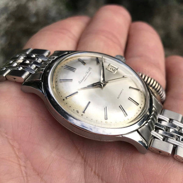 IWC - Automatic sainless steel Ref. R847A from the 1970's