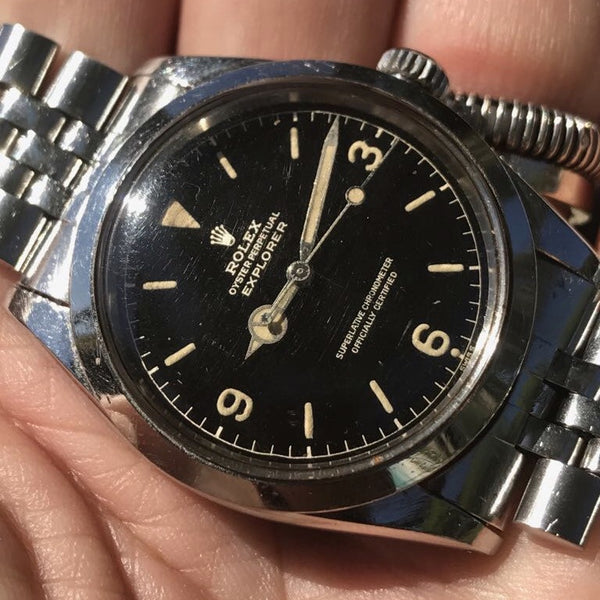 "Rolex - Explorer Military Ref. 1016 MARK I ""exclamation mark"""