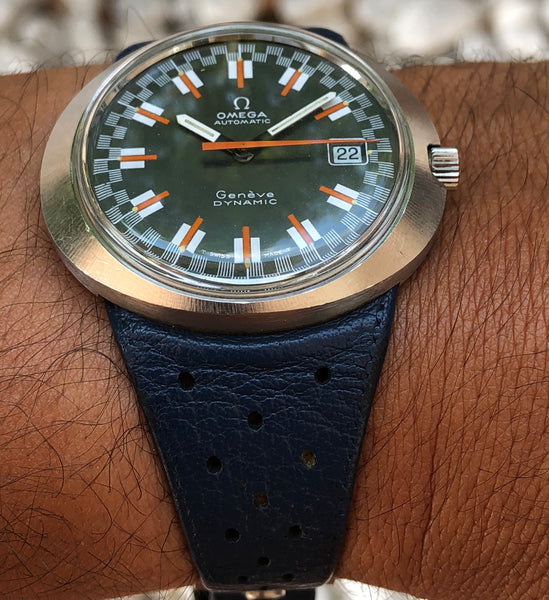 "Omega - Dynamic Steel c.1969 with rare ""Racing dial"""