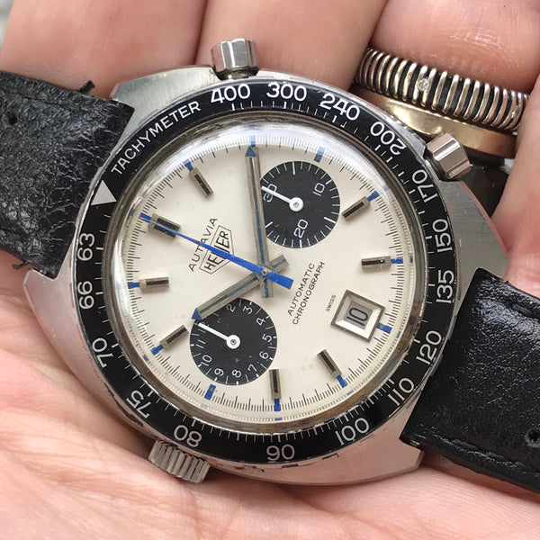 "Heuer - Autavia Reference 1163T Chronomatic ""Jo Siffert"""
