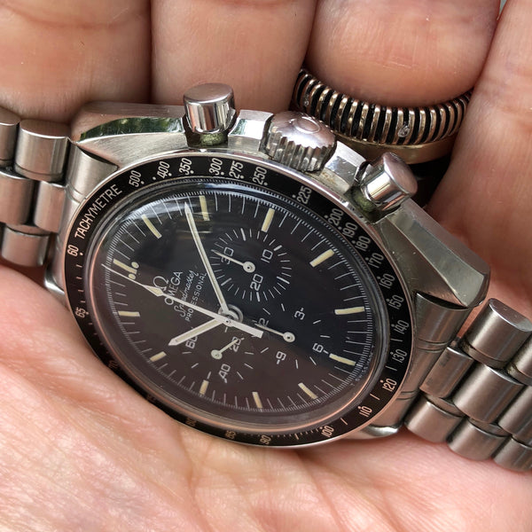 Omega - Speedmaster Ref.145.00.22 Long R ans S dial with card