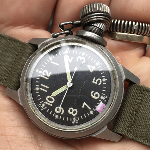 watch instruction additional warranty and packaged automatic new swiss crystal glycine in combat comes watches with sub sapphire a box information itm manual