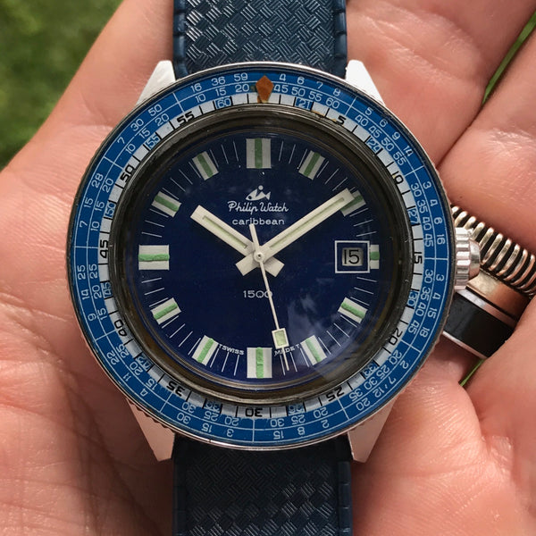 Philip Watch - Caribbean 1500 from 60s