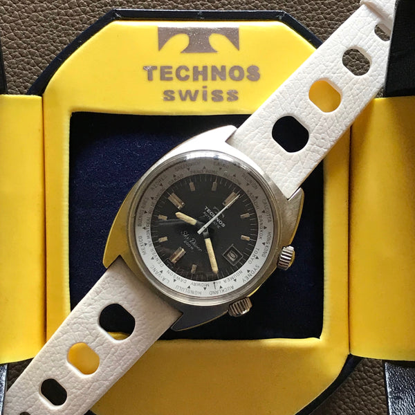 Technos - Sky Diver World Timer Super Compressor watch