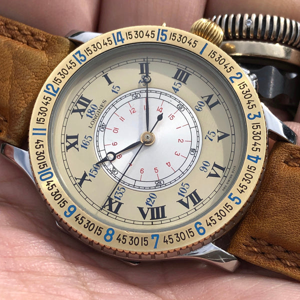Longines - Lindbergh Hour Angle limited edition 1987 60th Anniversary - ON HOLD
