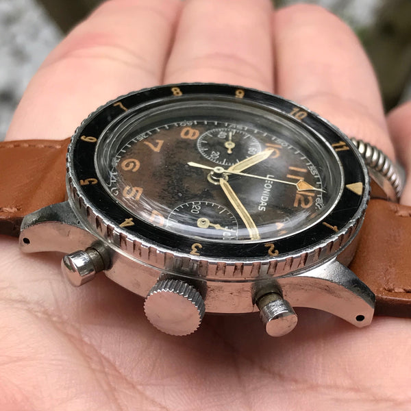 Leonidas - CP-1 Chronograph A.M.I. issued Mark I
