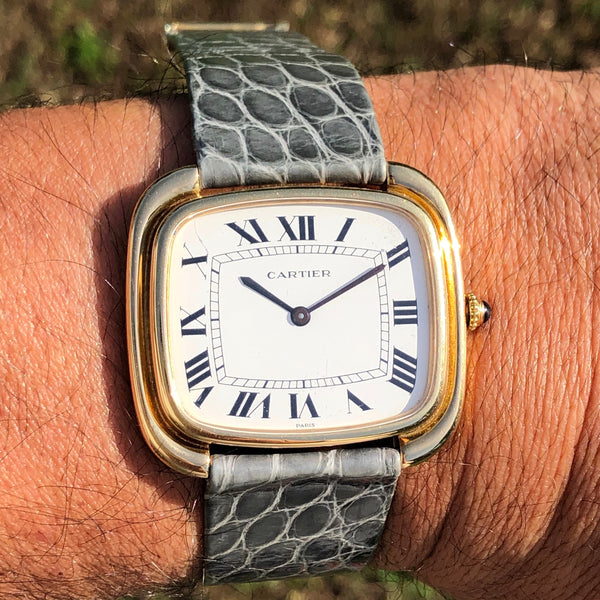 Cartier - TV 1970s 18kt gold