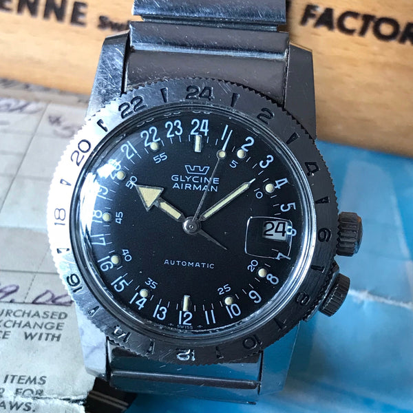 Glycine - Vintage Airman PAT 314.050 full set 1969