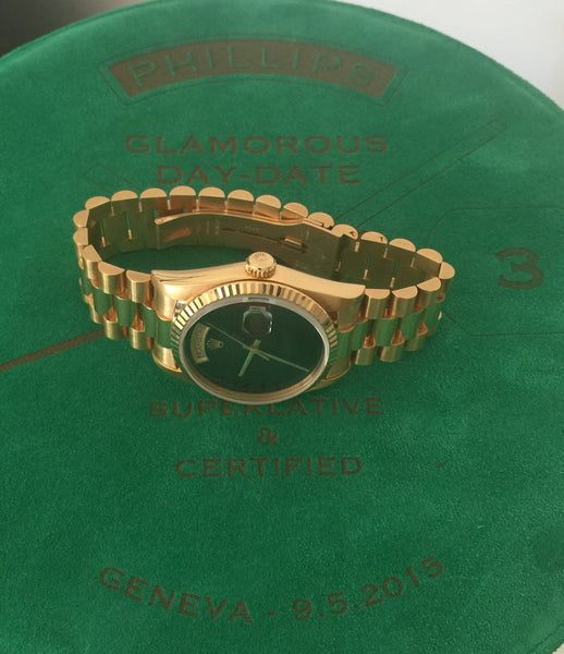 Rolex - Day-Date Ref.18238 from Glamorous Day-Date Phillips auction