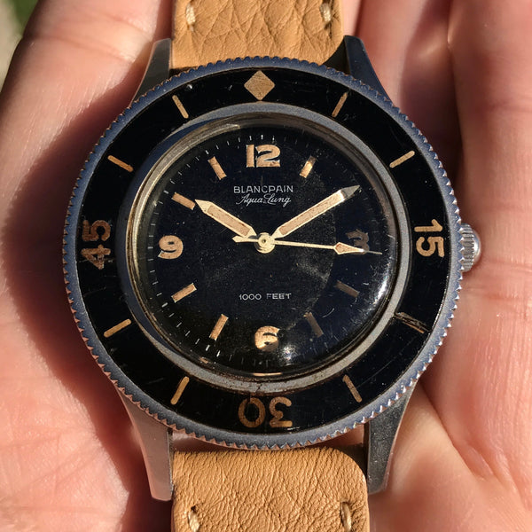 Blancpain - Fifty Fathoms Ref. 2462 Aqualung US Navy Subase engraved