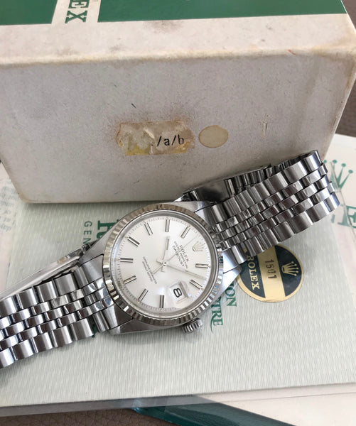 Rolex - Rolex Datejust Ref.1601 from the 1970's full set