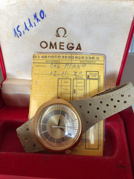Omega - Dynamic 18kt solid Gold full set 1970's