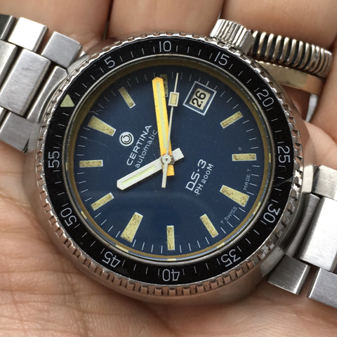 Certina - DS-3 Ploproof Phantom Bakelite bezel