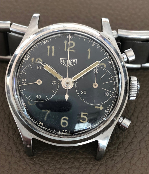 Heuer - Vintage pre-Carrera Chronograph BIG EYE from 1940s