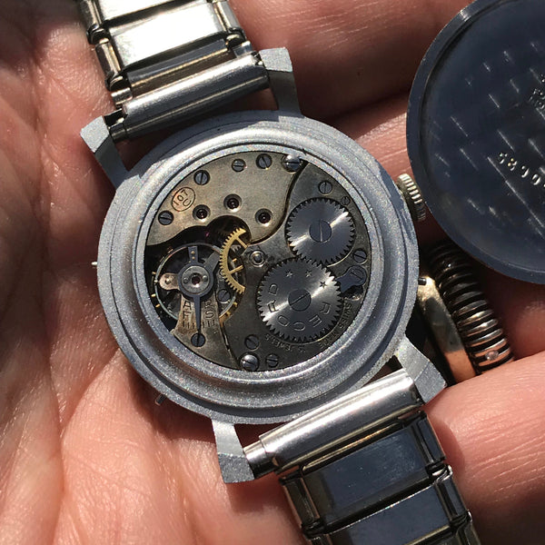 Record - Record Geneve Datofix triple date moon phase