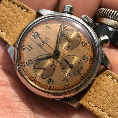 Kelbert - Antimagnetic Waterproof 1950's Chronograph