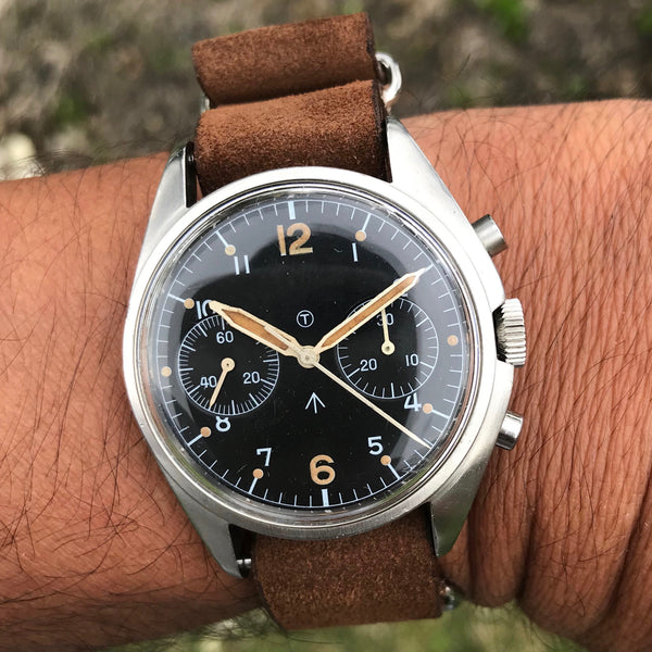 CWC - Royal Navy Chronograph sterile dial 1974