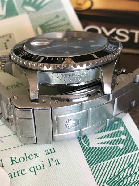 Rolex - Submariner Ref.16800 matt dial Full Set