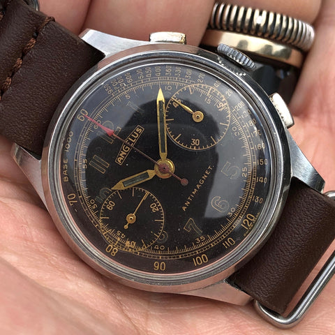 Angelus - Chronograph Cal. 215 antimagnetic military style