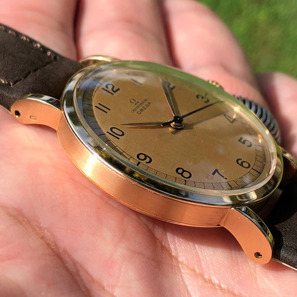 Omega - Chronometre Caliber 30t2rg from the 1940s