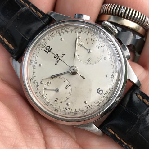 Omega - Caliber 33.3 S/S Chronograph from 1940's