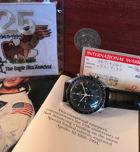 Omega - Speedmaster Ref. 3891.50 Apollo XI 25th Anniversary