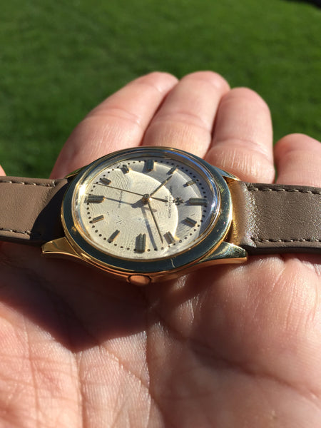 Vacheron & Constantin - gold 18k self winding waterproof Ref. 6307